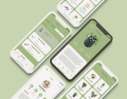 Plant Lover Mobile App Design