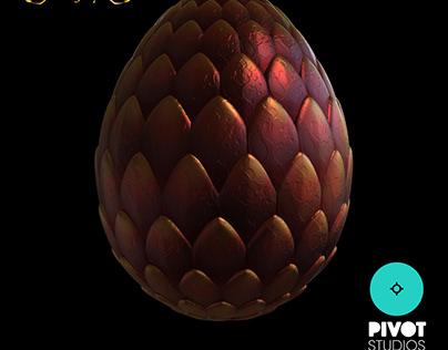 Fire Dragon Egg - Dragon Legacy
