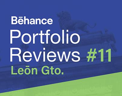Behance Portfolio Review #11 León Gto.