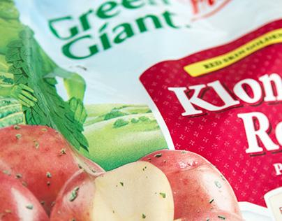 Green Giant Fresh Packaging