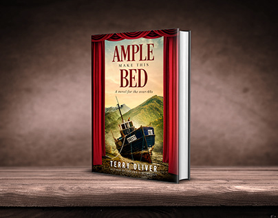 AMPLE MAKE THIS BED book cover design