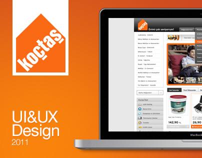 Koctas Website, 2011