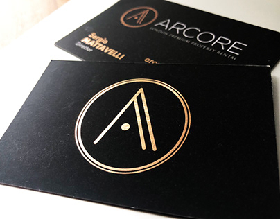 ARCORE business cards