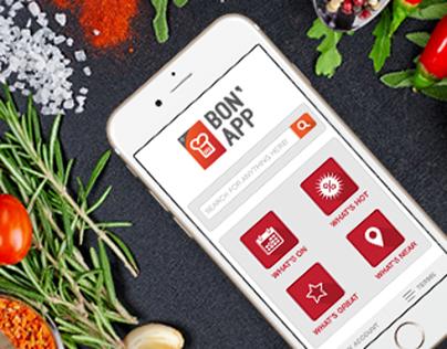 Bon'App Mobile App (Restaurants & Events in Mauritius)