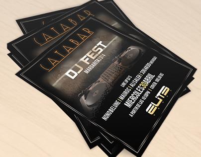 Flyer for DJ FEST