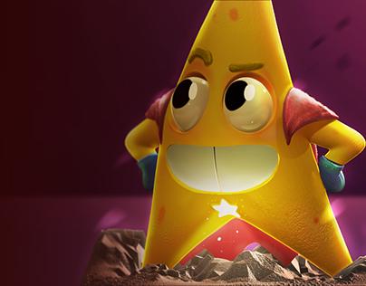 Super Star 3D Model
