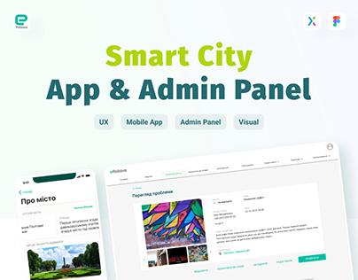 Smart City App & Admin Panel UX