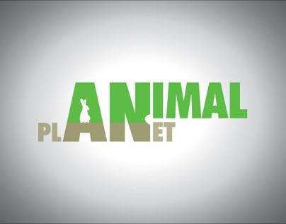 Logo & Animation for AnimalPlanet (Design fiction)