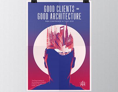 Riba Architecture Poster