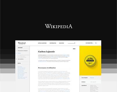 Wikipédia - Redesign