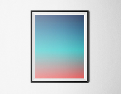 Gradient Posters (experiments)