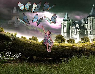 My daughter, my dear butterfly