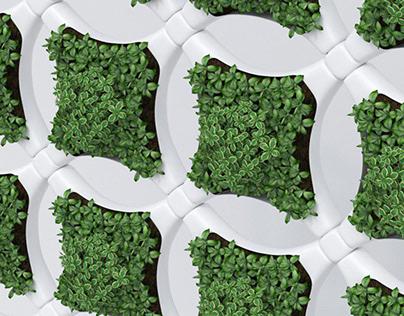 GreeneryPann Green Interior Panel