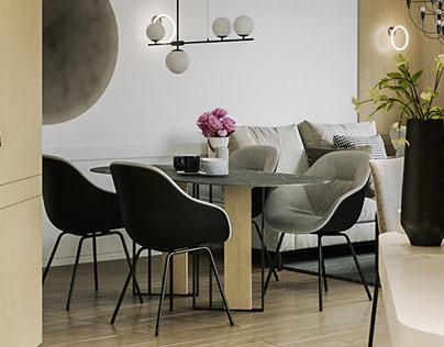 Husky interior design