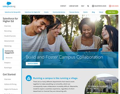 Salesforce.org Website Redesign