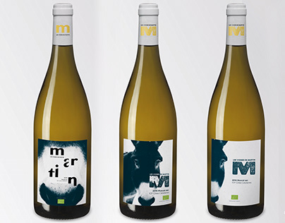 Domaine Cazes - Étiquette Les Vignes de Martin