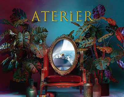 ATERIER - Deviin Taylor / 앨범 커버 디자인 Album Cover Design