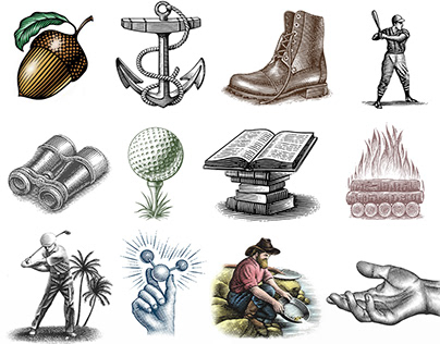 The Illustrated Icons Collection by Steven Noble