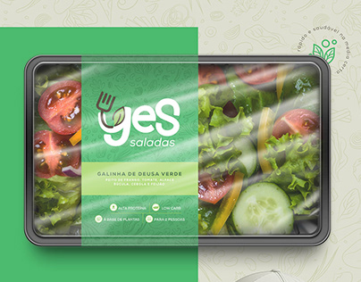 Brand Yes Saladas