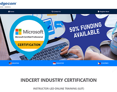 Knowledgecom.my/indcert Sub Web Page
