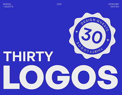 Thirty Logos - Design Quests