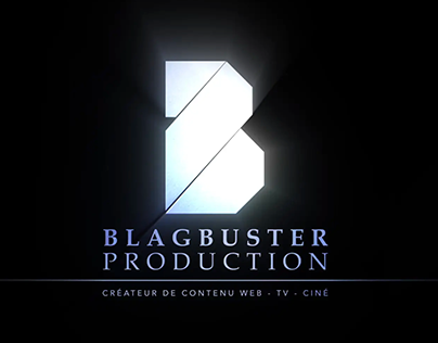 Blagbuster Logo Animation