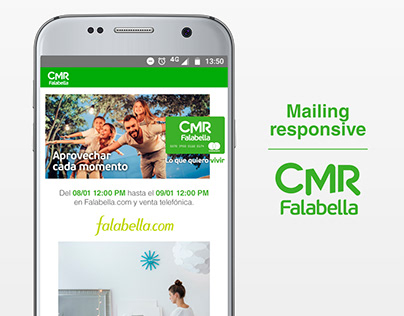 Mailing responsive | CMR Falabella Argentina