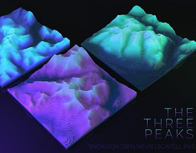 The Three Peaks - Terrain Mapping