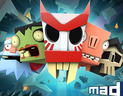 MAD ACES characters