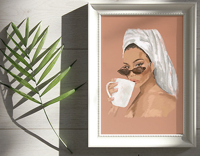 Wall Print Illustrations