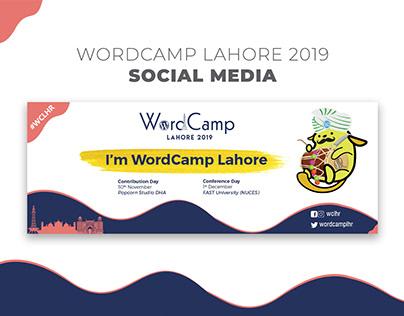 WordCamp Lahore 2019 - Social Media