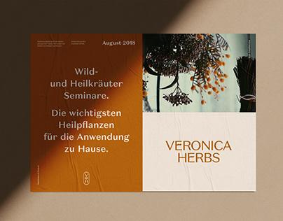 Veronica Herbs – Packaging and Branding