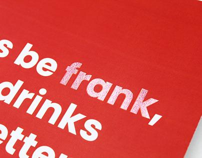 Visual Identity: Frank's Bar