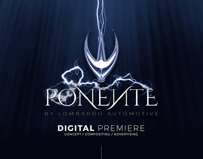 Ponente Digital Premiere Advertising Concept