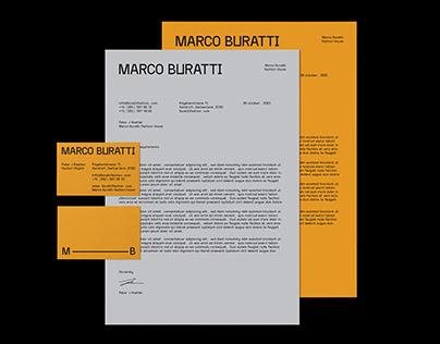 Marco Buratti Fashion House - Brand Identity