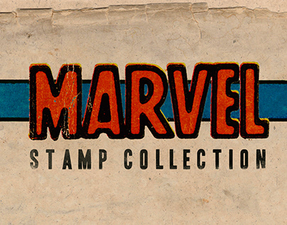 Marvel Comics, Stamp Collection