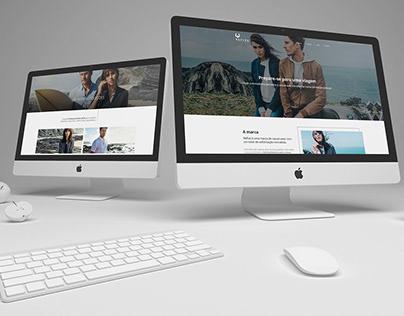 Refive . Landing Page