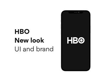 HBO new look - UI and brand