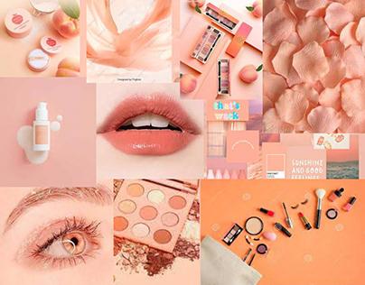 Aesthetic Cute Makeup Wallpapers.