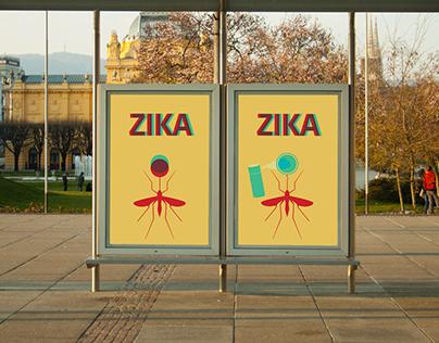 ZIKA awareness posters