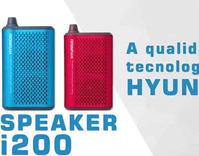Hyundai Speaker - Vídeo motion graphics