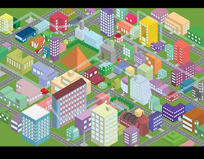 Isometic City