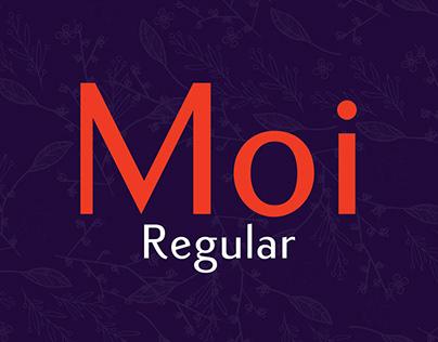 Moi Regular