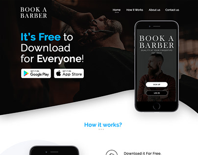 Barber Booking App