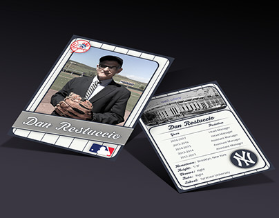 Faculty Member Baseball Card