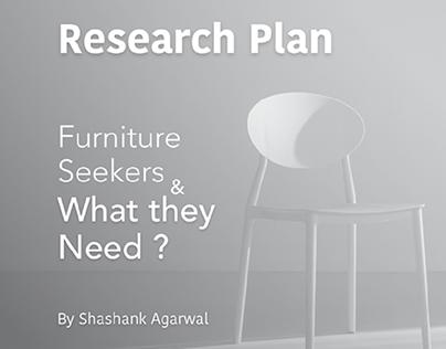 Research Plan   Furniture Seekers