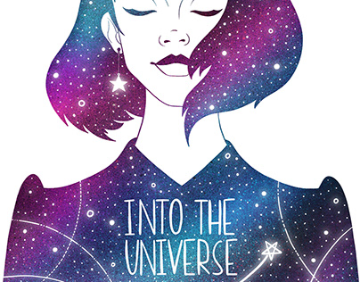 """Personal character project """"INTO THE UNIVERSE""""."""