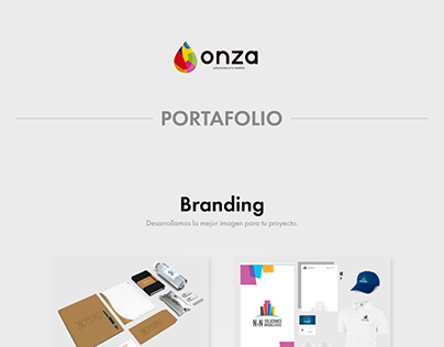 Portafolio - Onza Marketing