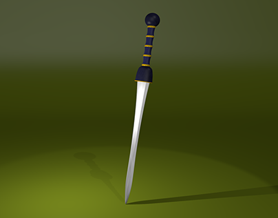 Espada romana de gladiador