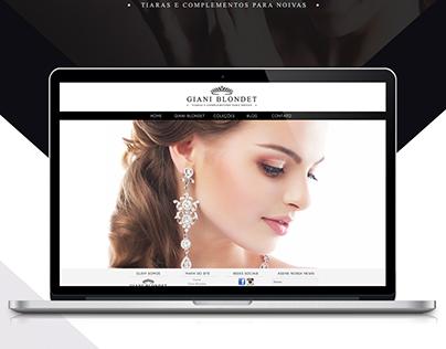 UX/UI Design: Giani Blondet Ecommerce